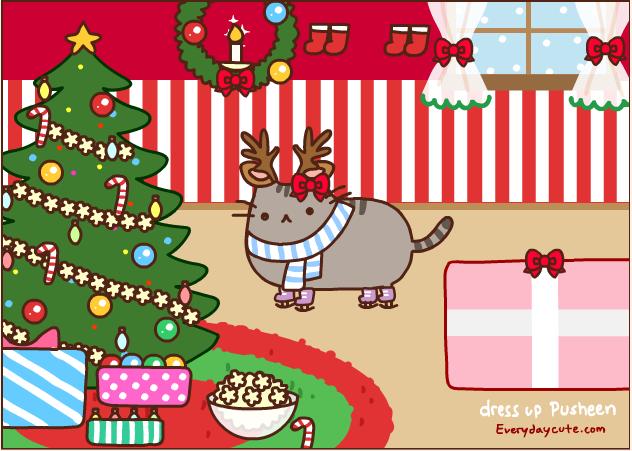 Pusheen the Cat!(Hailey Ray): December 2012
